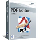 Wondershare PDF Editor for Mac discount coupon