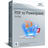 Wondershare PDF to PowerPoint for Mac discount coupon