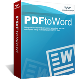 Wondershare PDF to Word Converter Screen shot