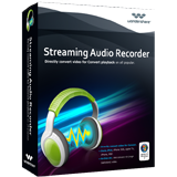 Wondershare Streaming Audio Recorder discount coupon