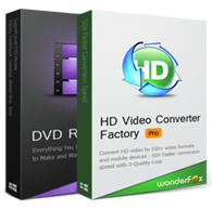 Discount code of HD Video Converter Factory Pro + WonderFox DVD Ripper Pro