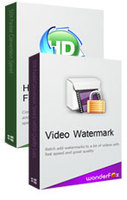 HD Video Converter Factory Pro + Video Watermark discount coupon