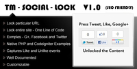 Click to view TM Social Lock screenshots