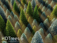HDTrees 6 for 3ds Max discount coupon