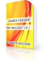 GAMES FEEDER UNLIMITED for PHP Melody 1.6.x/1.7
