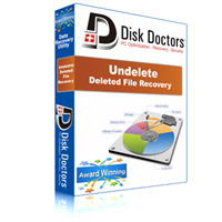 <p><br />Disk Doctors' Undelete is the world's fastest and most reliable undelete software. It utilizes a very easy to operate interface and contains powerful functions that allow anyone to undelete files in the Windows operating system.</p> <p>This undelete software works with Microsoft Windows® 2000, Windows® XP and Windows® Vista. It can undelete data from hard drives, flash drives, USB drives, ZIP, SD Cards, MMC, and Firewire drives.</p>