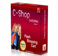 <p>C-Shop is a powerful Flash based Web Store that creates complete E-Commerce capabilities. Using Paypal as a secure merchant provider offers one of the most affordable ways to sell online. Create online stores and shopping carts for retail or wholesale. No html or programming required, just add your categories, add your items then upload. Creating and maintaining an e-commerce site has never been easier.</p>