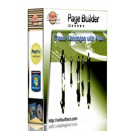 <p>The Page Builder V2.2 is a powerful application that will allow you to create impressive and professional full screen Flash webpages. Design your full screen flash page by adding your photos and text and then hundreds of installed Flash animations, background images and Flash buttons. A Flash page can be made in minutes with no programming required.</p>