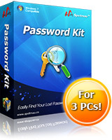 <p>Forget your Windows Admin/User password? Want to find out your Microsoft Windows/products products Key? Or email, MSN, IE and Google Talk password? This is the right tool for you!</p>