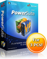 Spotmau PowerSuite 2010 discount coupon