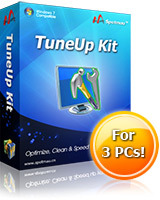 <p>TuneUp Kit optimizes and boosts your Windows performance; repairs and cleans your registry and system; eliminates Windows freeze and hang; remove stubborn and ghost programs; cleans up obsolete debris and trace files; boost your Windows startup time; optimizes your network speed;</p>