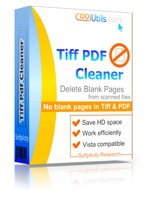 <p>Detect and delete blank pages in scanned tiff and pdf files in batch.</p>