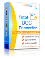 Convert Doc to PDF, HTML, XLS, Image and Text easily.