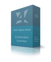 Extended PHP Admin Panel discount coupon