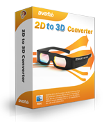 DVDFab 2D to 3D Converter for Mac boxshot