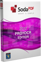 Soda PDF Pro + OCR 2012 Screen shot