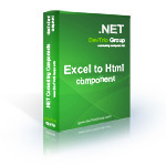 Excel To Html .NET - Developer License PRO