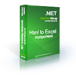Html To Excel .NET - Source Code License