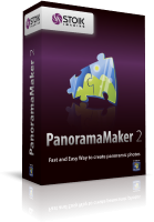 <h2>Fast and Easy Way to create panoramic photos on Windows</h2> <p><strong>STOIK PanoramaMaker</strong> is automatic panorama software that turns any group of overlapping photos into high quality panoramic image. </p> <p>The program combines very simple user interface, step by step workflow and powerful modern mathematical approach to image matching.</p>