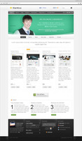 <p> 	Starttica is corporate business theme but it can easily be used as a blog. The theme is packed with 100+ options to  promote your products, make more sells, attract new customers and much more. This is one of the easiest themes for customization.</p>