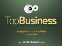 screenshot of TopBusiness WordPress and BuddyPress theme - Extended Licence
