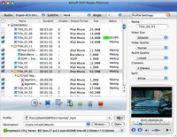 <p>Xilisoft DVD Ripper Platinum for Mac helps you convert DVD to all popular videos and audios like AVI, MPEG, WMV, DivX, MP3, WMA, WAV for playback on various digital devices. Also you can clip and split files to get custom video.</p>