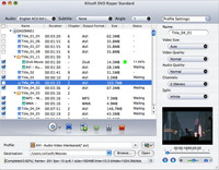 <p>Xilisoft DVD Ripper Standard for Mac helps you convert DVD to all popular videos and audios like AVI, MPEG, WMV, DivX, MP3, WMA, WAV for playback on various digital devices. Also you can clip and split files to get custom video.</p>