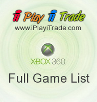 Xbox 360 full game list Screen shot