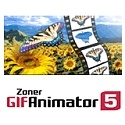 "Zoner GIF Animator 5 is an extraordinary tool for creating and editing images, especially Web banners, in the animated GIF format. Other new features/abilities in version 5: adding vector graphics (e. g. clip art) in the WMF and EMF formats ""rendering"" (restoring) animations' original frame states, a texture generator, support for Adobe Plug-Ins, a transformation tool for rotating and resizing frames and trimming bitmaps, the option to give frames a solid (alpha) transparency of 0-99%, and an improved algorithm for optimizing animations (minimizing their file size)."