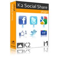 Click to view K2 Social Share / 1 year subscription screenshots