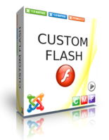 Custom Flash LOGO FREE for Joomla 1.6 Screen shot