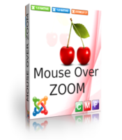 Mouse Over Zoom LOGO FREE for Joomla 1.5 Screen shot