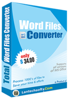 Total Word Files Converter discount coupon