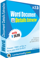 Word Document Details Extractor discount coupon