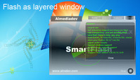 <p>SmartFlash is a VCL            with additional features in Macromedia Flash ActiveX.</p>