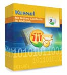Kernel for Notes Contacts to Outlook – Technician License discount coupon