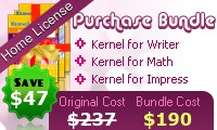 OpenOffice Repair Software – Home License discount coupon