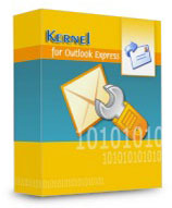 screenshot of Kernel Recovery for Outlook Express - Home License