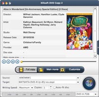 <p> 	Xilisoft DVD Copy for Mac is best solution which enables you to make a DVD disc from one and another in 1:1 ratio. backup DVD movies into DVD folders or ISO files. and burn quality DVD discs from DVD folders or ISO files preserved in your Mac.</p>
