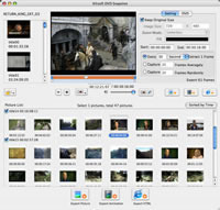 <p> 	Xilisoft DVD Snapshot for Mac assists you to capture pictures from DVD-Video andDVD folder. and output the captured DVD images as static picture in JPEG. PNG.GIF and BMP. or animation in GIF and Flash. or HTML page for reserving lovedframes of DVD movies.</p>