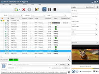 <p> 	Xilisoft DVD to Pocket PC Ripper enables you to convert DVD to WMV files with different resolutions and settings in custom file size. thus you can watch DVD movies on HP. Dell. Toshiba and Garmin Pocket PC now.</p>