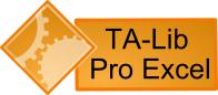 TA-Lib Pro Excel Screen shot