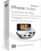 Aiseesoft iPhone Video Converter for Mac discount coupon