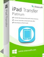 Aiseesoft iPad Transfer Platinum discount coupon