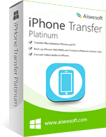 Aiseesoft iPhone Transfer Platinum discount coupon