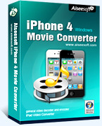 [>75% Off Coupon code] Aiseesoft iPhone 4 Movie Converter