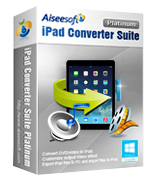 Aiseesoft iPad Converter Suite Platinum discount coupon