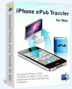 Aiseesoft iPhone ePub Transfer for Mac discount coupon