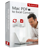 Aiseesoft Mac PDF to Excel Converter discount coupon