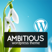 Ambitious – Business & Portfolio WordPress Theme discount coupon